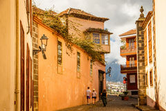Free Ancient Street In La Orotava, Tenerife Royalty Free Stock Photography - 89740617