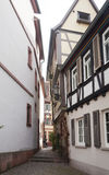Ancient Street in Ladenburg Royalty Free Stock Photo