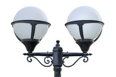 Ancient street lamp Stock Photos