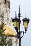 Ancient street lantern Stock Photos