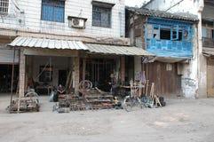 Ancient street of Yuanjiang Stock Photography