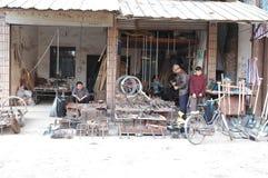 Ancient street of Yuanjiang Stock Photos