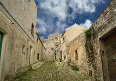 Ancient streets in old italian style Royalty Free Stock Photography