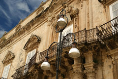 Ancient streets of Syracuse,  Sicily, Italy Royalty Free Stock Image