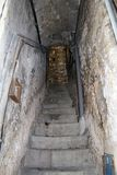 Ancient streets of ventimiglia Stock Photos