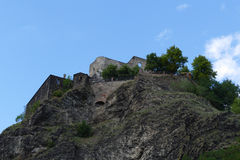 Ancient stronghold Strekov Royalty Free Stock Image