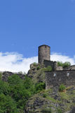 Ancient stronghold Strekov Stock Photography