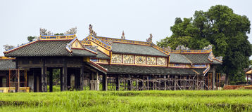 Ancient Structures of Hue stock photo