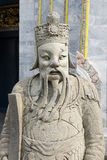 Ancient stucco chinese doll in a temple Stock Images