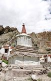 Ancient stupa in the Hemis Monastery complex, Leh Stock Photos
