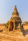 Ancient stupa in Old Bagan Royalty Free Stock Photos