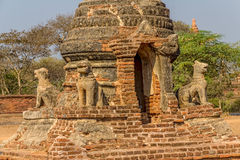 Ancient stupa in Old Bagan Royalty Free Stock Image