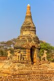 Ancient stupa in Old Bagan Royalty Free Stock Photography