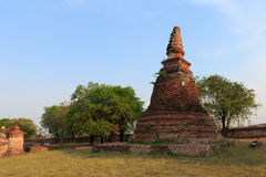 Ancient Stupa Royalty Free Stock Image