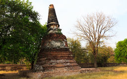Ancient Stupa Royalty Free Stock Photos