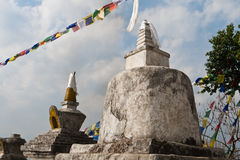 Ancient stupas Stock Photos