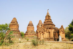Ancient Stupas in Bagan, Myanmar Stock Image