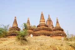 Ancient Stupas in Bagan, Myanmar Stock Photo