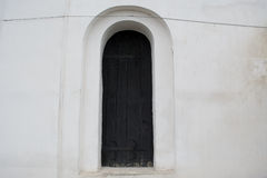 Ancient style window  in the church Royalty Free Stock Photo