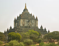Ancient Sulamani, a temple of Bagan Royalty Free Stock Images