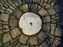 Ancient sun clock , Kamenets Podolskiy, Ukraine Stock Photos