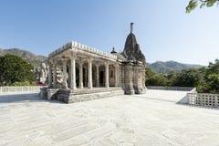 Ancient Sun Temple in Ranakpur. Royalty Free Stock Photos