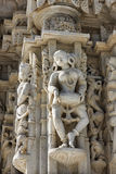 Ancient Sun Temple in Ranakpur. Jain Temple Carving. Stock Photography