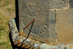 Ancient Sundial Stock Image