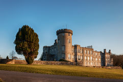 Ancient sunset evening  castle in county clare ireland Royalty Free Stock Image