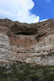 Ancient SW Ruuns. Ruins of ancient native culture in American southwest. Montezuma,s castle cliff dwellings stock photos