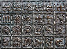 Ancient Symbols royalty free stock photography