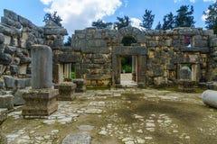Free Ancient Synagogue Ruins In Baram National Park Royalty Free Stock Photo - 144434785