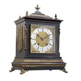 Ancient table clock. Stock Images
