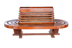 Ancient teak chairs Royalty Free Stock Photos