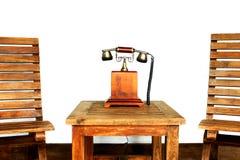 Ancient telephone Stock Photos