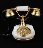 Ancient telephone Royalty Free Stock Image