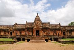 Ancient Temple. The ancient Khmer temple of Phnom Rung in eastern Thailand. It was a Hindu shrine dedicated to Shiva Stock Photos