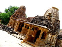 Ancient Temple. An abstract view of a very ancient temple in India Stock Image