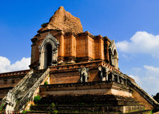Ancient temple. In chiang mai, thailand Stock Images