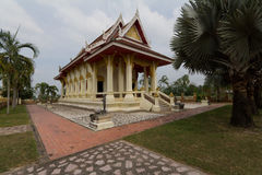 Ancient Temple. Thailand Ancient Temple with Blue Sky Stock Photos
