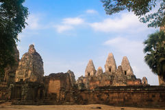 Ancient temple in Angkor Royalty Free Stock Image