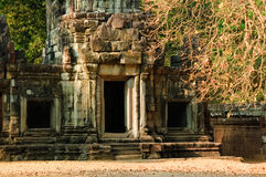 Ancient temple in Angkor Royalty Free Stock Photography