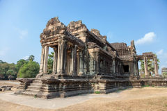 Ancient temple in Angkor Cambodia Stock Image