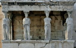 Ancient temple of Apollo royalty free stock photo