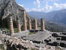 Ancient Temple of Apollo Royalty Free Stock Image