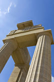 Ancient temple of Apollo at Rhodes Royalty Free Stock Images