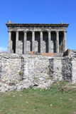 Ancient temple in Armenia Stock Photo