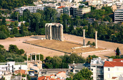 Ancient temple - Athens - Greece Stock Photography