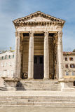 Ancient Temple Of Augustus-Pula,Croatia Royalty Free Stock Images