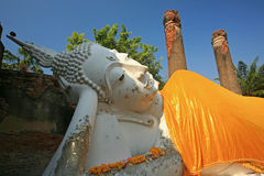Ancient temple Ayudhaya- Royalty Free Stock Images